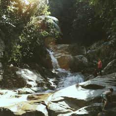 A perfect trek to jungle waterfalls.