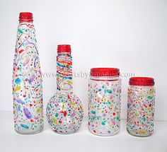 Make Your Own Confetti Party Ware