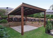 Simple design your own #home with attractive #gazebo. A fine structure that, simply put a beauty in a home.
