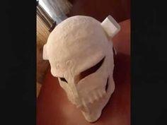 ichigo hollow mask making tutorial - YouTube