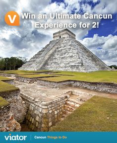 Dreaming of a ‪#‎vacation‬ in ‪#‎Mexico‬? Enter our ‪#‎giveaway‬ for a chance to win an Ultimate ‪#‎Cancun‬ Experience for 2!