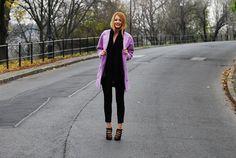 F&F – Coat / Zara – Jeans / Jessica Buurman – Heels / CLUSE – Watch / H&M – Scarf & Jewelry.
