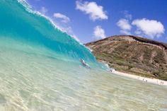 My favorite body surfing spot on Oahu