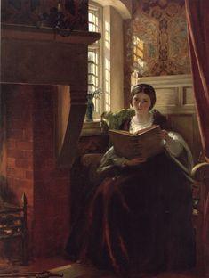 A Pleasant Corner (1865). John Callcott Horsley (English, 1817-1903).