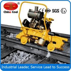 chinacoal03 GM-2.2 Rails Grinding Machine Keyword:rails grinder; electric rail grinder; GM-2.2 rails grinding machine  Applicable scope: GM - 2.2 electric rail grinding machine is suitable for the grinding of 43 kg/m - 75 kg/m rail welding line, uneven joints, rail side fat edge, rail surface repairing parts, etc. With high working efficiency, good quality and simple operation, it is necessary tool for railway maintenance.