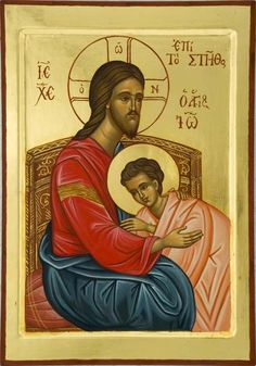 Religious Images, Religious Icons, Religious Art, Jesus Is Lord, Jesus Christ, Savior, Greek Icons, Religion, Byzantine Icons