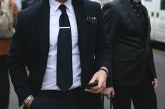 Ditch the skinny ties chaps. 2013's the year of the power tie! #menswear #wallstreet