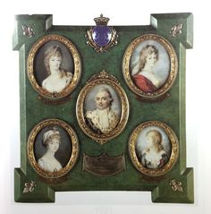 Auction sale the 7th november 2017 : Coutau Begarie Auction Paris. Stroely-Stroehling-Ströhling-Peter-Edward : Russian portraits miniatures of French Royal family. Русский миниатюрный портрет Marie-Antoinette, Louis XVI, Louis XVII-collection of Chevalier Joseph Weber, foster brother of Queen Marie Antoinette