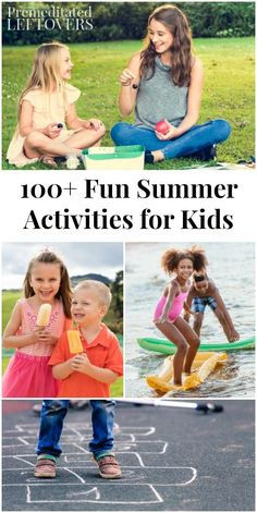 100+ Fun Summer Acti