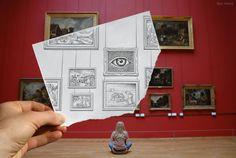 Pencil vs. Camera - by Ben Heine