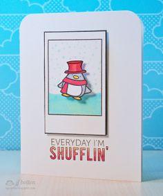 JJ Bolton {Handmade Cards}: Mama Elephant Stamp Highlight ~ Polar Pals