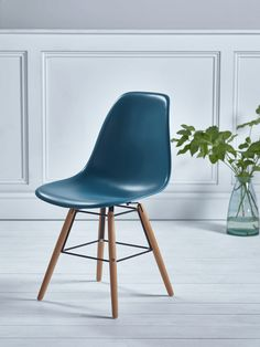 NEW Nils Moulded Dining Chair - Teal