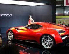 Icona Vulcano Sports Car Unveiled in China