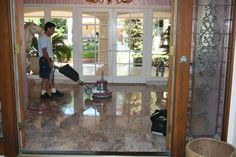 Classic Marble Restoration offers marble cleaning, natural stone restoration, natural stone polishing, and sealing services for Residential homes, Commercial Properties, and Yachts.