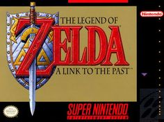 the legend of zelda a link to the past caractula - Buscar con Google