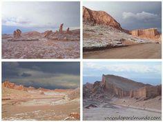 Valle de la Luna en San Pedro de Atacama, Chile