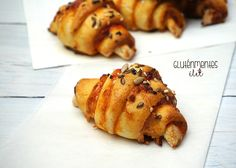 Sin Gluten, Pizza Croissant, Healthy Desserts, Healthy Recipes, Gluten Free Recipes, French Toast, Muffin, Food And Drink, Healthy Eating