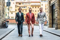 """billy-george: """"Colourful! Spotted at Pitti Uomo 90 Photo via D'Marge """""""