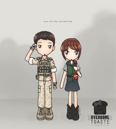 Overdone Toaste is watching:Descendants of the Sun 태양의후예 Genre:Action/Drama/Romantic Comedy Thoughts:So many funny, heart-wrenching, and action-packed moments 😂😭😱I loved how the drama addressed the emotional struggles that both those in the medical field and military face every day. Beautiful cinematography throughout and some really epic shots during the action sequences 👍 #descendants of the sun#태양의후예 #kdrama fanart#yoo shi jin#kang mo yeon #kdrama#overdonetoaste