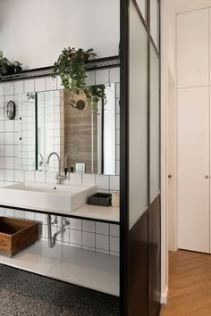 Redesign For A Singles Bauhaus Apartment - Picture gallery #architecture #interiordesign #bathroom
