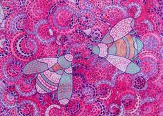 "Saatchi Art Artist Marina Krylova; Painting, ""Bee Visible"" #art"