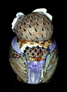 Little Owl - David Burnham Smith - Ceramic Artist Foxes Photography, Beautiful Owl, Little Owl, Burnham, Wooden Animals, Ceramic Artists, David, Crafty, Fine Art