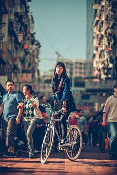 Hong Kong traffic stopper by RH+O fixed gear specialist!, via Flickr