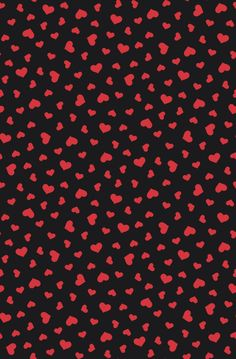 "Grafica di TheColorSoup: ""Little hearts"". #thecolorsoup #graphics #tessuti #textile #love #heart #valentinesday"