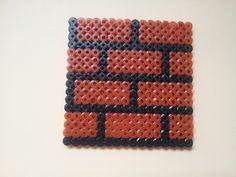 super mario - brick -  perler beads made by Yvonne DK