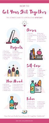 How To Get Your Life Together | The Ultimate Guide To A Productive GYST Day