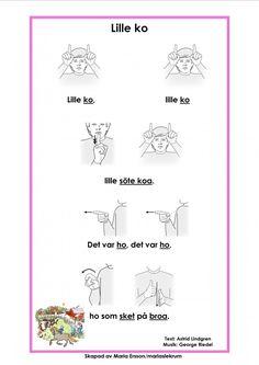 Mariaslekrum Swedish Language, Kids Songs, Sign Language, Kindergarten, Preschool, Teacher, Education, Music, Communication