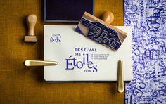 Festival des étoiles stamp — Branding by Le Goff & Gabarra
