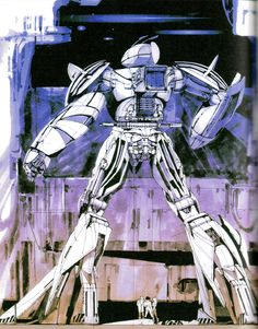 Syd Mead for Turn X Gundam