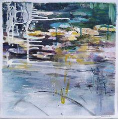 Joanne Reen: Water Garden Study III: fine art   StateoftheART Canvas Fabric, Oil On Canvas, South African Artists, Bathroom Art, Water Garden, Original Artwork, Study, Fine Art, Gallery