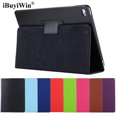 Case for iPad 2017 9.7 Slim Folding Flip Stand Smart Cover Auto Wake PU Leather Case for iPad 2017 9.7 inch A1822 A1823+Film+Pen