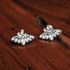 Crystal Ear Jackets #arialattner #jewelry #bohochic #austintx #atx