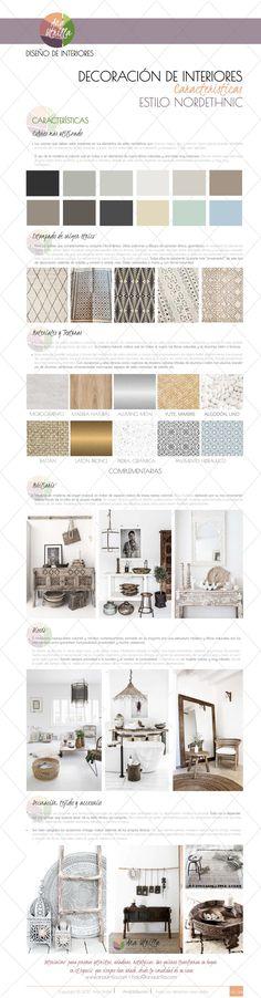 Infografía cómo decorar con estilo noretnic por Ana Utrilla @utrillanais www.anautrilla.com