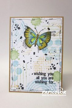 Henriette Geurkink - Butterfly card