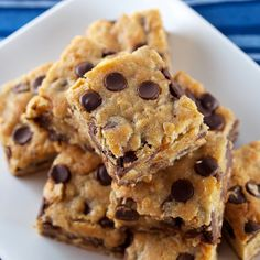 Slow Cooker Clean Eating Blondies