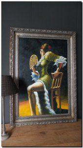 Schilderij Spaanse danseres