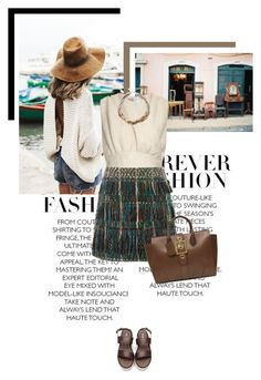 Observing the Landscape by veronicamastalli on Polyvore featuring polyvore fashion style Emilia Wickstead Maiyet Gucci clothing