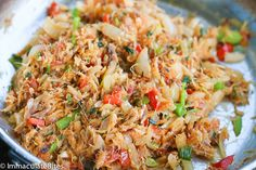Salt Fish and Bake-A delightful blend of Salt fish sautéed with onions, garlic,. Indian Food Recipes, Vegetarian Recipes, Cooking Recipes, Healthy Recipes, Ethnic Recipes, Pescatarian Recipes, Healthy Breakfasts, Carribean Food, Caribbean Recipes