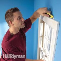Stop that cold draft coming in around windows and doors by removing the trim and sealing the airflow permanently. It takes a little work, but you'll save energy and money all year long. Get the instructions: http://www.familyhandyman.com/windows/repair/stop-window-drafts-and-door-drafts-to-save-energy/view-all