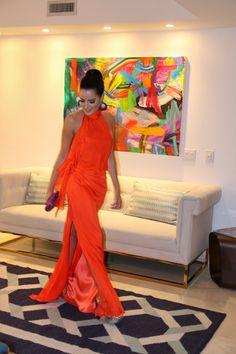 Mariah Bernardes em Brazil Foundation - Miami Jan 2016