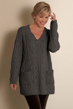 Provence Pullover - Pullover Sweater, L:ayered Look Sweater ...