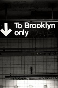 To Brooklyn only ⬇
