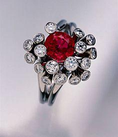 DREAMTIME: Burmese Ruby Ring.