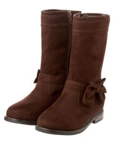 {Bow Suede Boot}