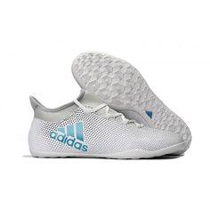 Adidas X Tango 17-3 IC Botas De Futbol Blanco Azul 9971c2beec6af