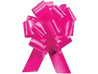 HOT PINK Pull String Bows - Wide 20 Loops & ribbon) Set of 10 Ideal for gift baskets and gift packaging Pull Bows are made from flora satin ribbon Make perfect bows every time! Christmas Tree Bows, Xmas Ornaments, Christmas Birthday, Xmas Tree, Christmas Holidays, Wedding Gift Wrapping, Wedding Gifts, Pull Bows, Discount Beauty